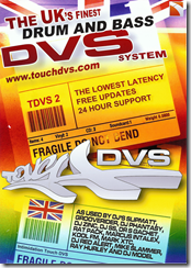 Touch DVS