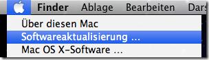 Mac OS X Softwareaktualisierung