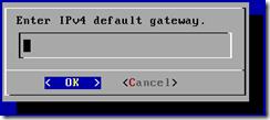 FreeNAS - default gateway