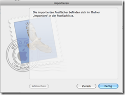 Apple Mail Importieren