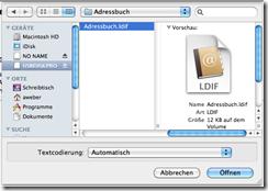 Apple Mail Adressbuch Importieren