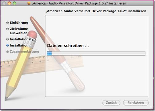 Versaport Setup Mac