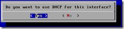 FreeNAS - DHCP