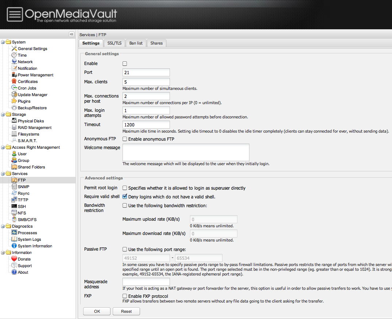 Openmediavault ftps verwenden andys blog linux windows um daten freizugeben 1betcityfo Image collections