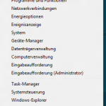 Windows 8: Kontextmenü in der Metro UI