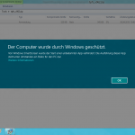Windows 8: SmartScreenFilter-Meldung