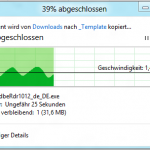 Windows 8: Kopierdialog