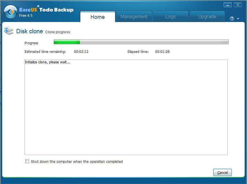 easeus todo backup how to clone windows drive