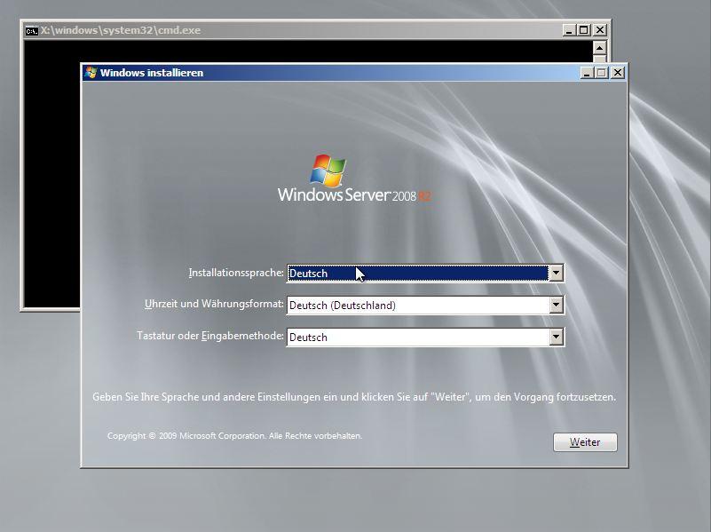 Microsoft Windows Server 2008 R2 Foundation ohne BIOS-Lock
