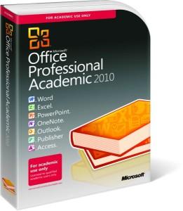 Microsoft Office Professional Academic 2010 - Boxshot