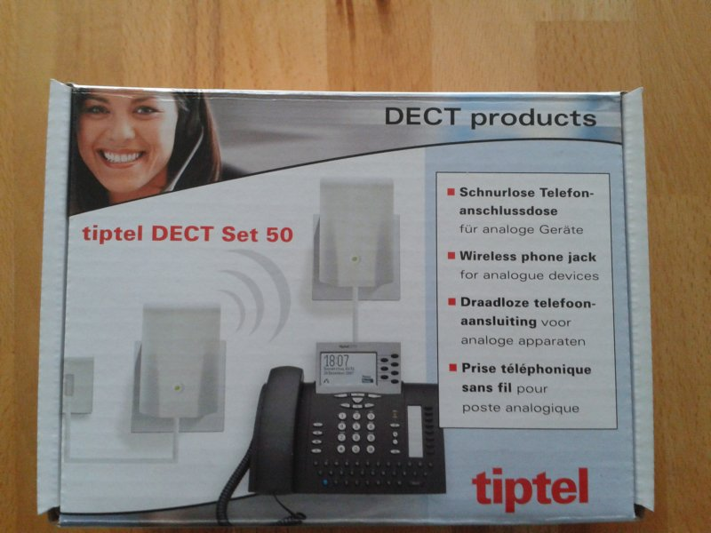 tiptel DECT Set 50 Box