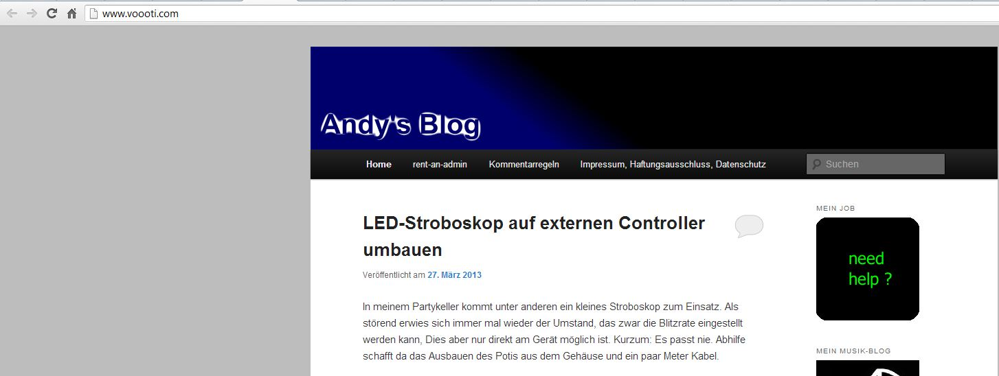Kopie von Andy's Blog auf voooti.com