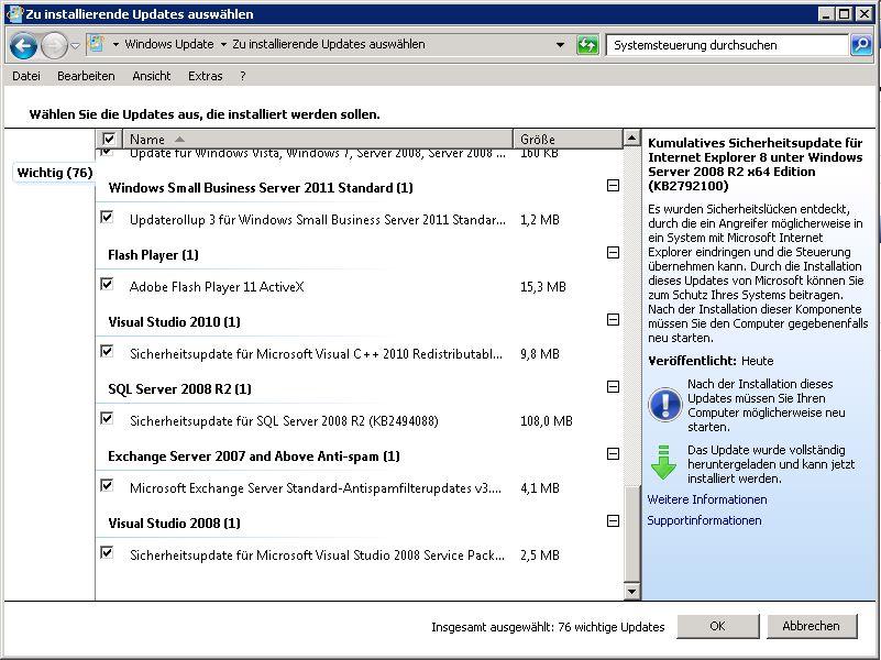 LUP - Adobe Flash Player via WSUS