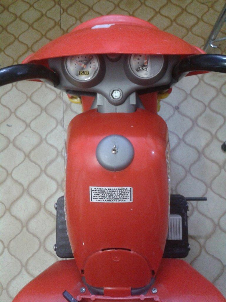 Pimp my Kinder-Bike - Schalter für Vorwärts und Rückwärts