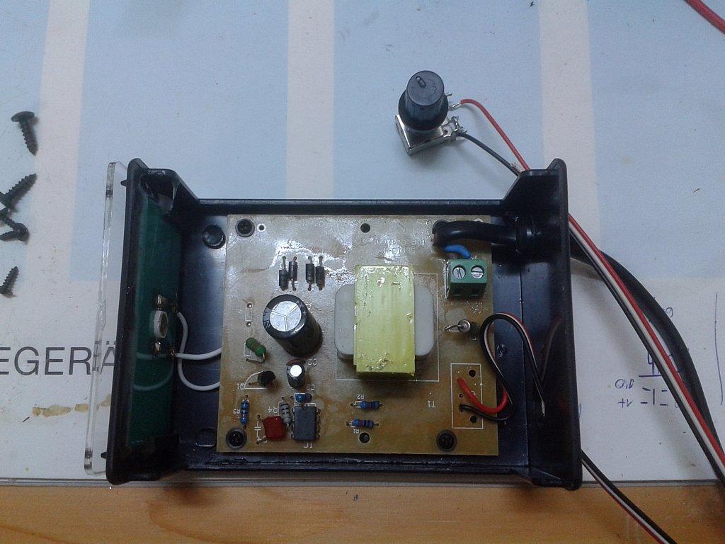 Stroboskop-Umbau