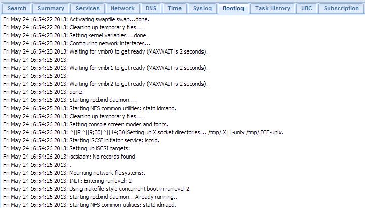 Proxmox VE 3.0 - Bootlog