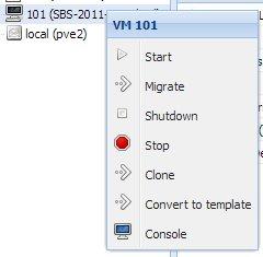 Proxmox VE 3.0 - VM klonen oder Vorlage erstellen