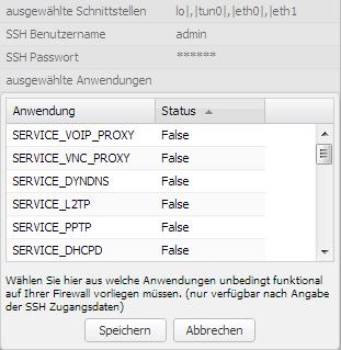 Server-Eye - Securepoint UTM - Anwendungen überwachen
