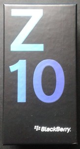 BlackBerry Z10 - Box