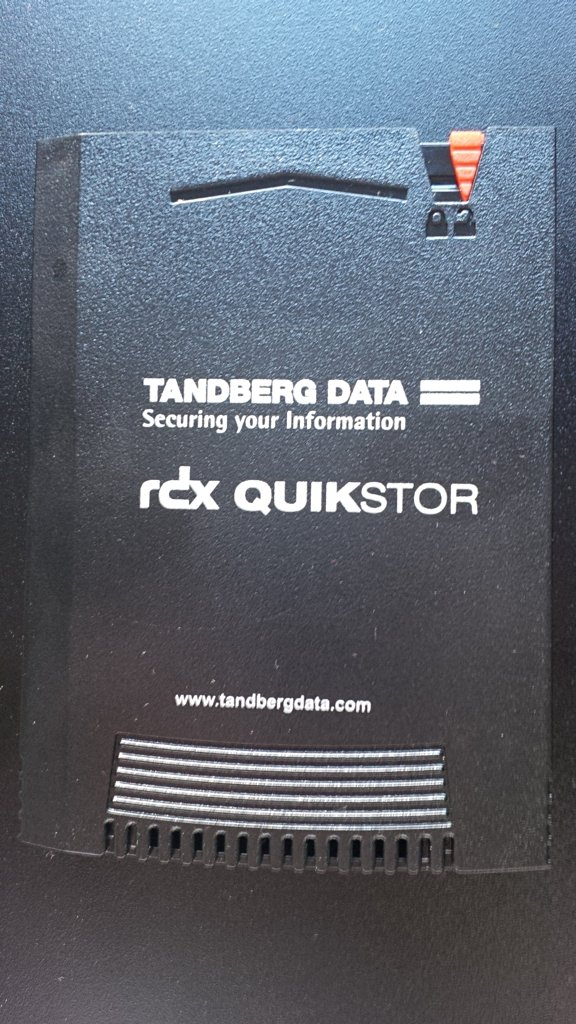 Tandberg Data - RDX-Medium