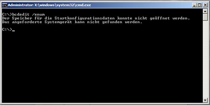 Hyper-V - Test-Restore - bcdedit /enum