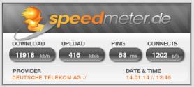speedmeter - SPEEDTEST