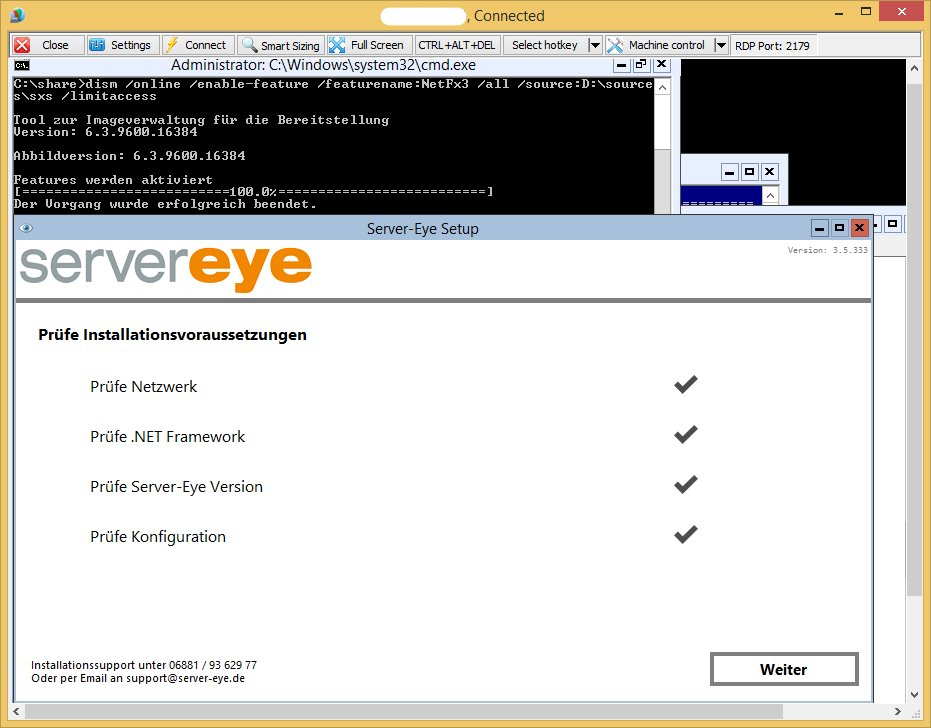 Server-Eye - Windows Server Core