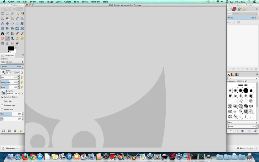 Gimp on Mac