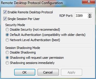 RDP Wrapper - RDPConf.exe