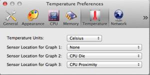 XRG - Temparature Preferences