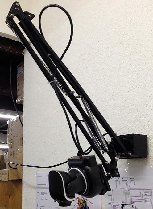 DIY INSTAR-Kameraarm