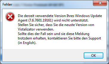 Vistalizator - Windows Update Agent