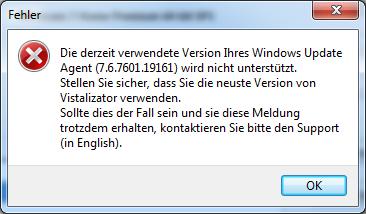 Vistalizator - Windows Update Agent