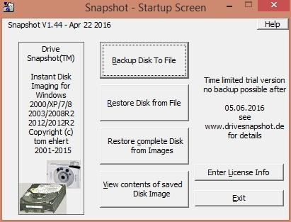 Drive Snapshot 1.44