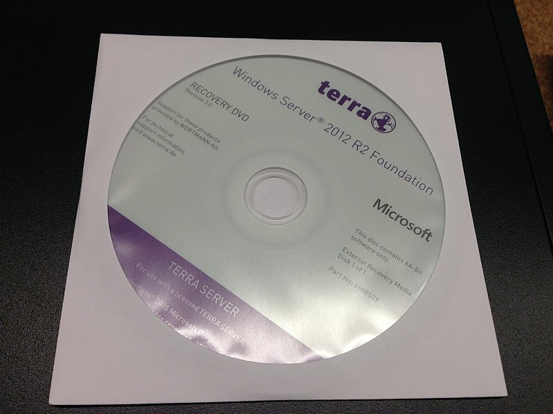 Wortmann - Windows Server 2012 R2 Foundation - DVD
