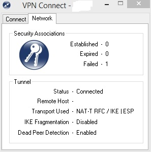 Shrew Soft VPN Client - SA Failed