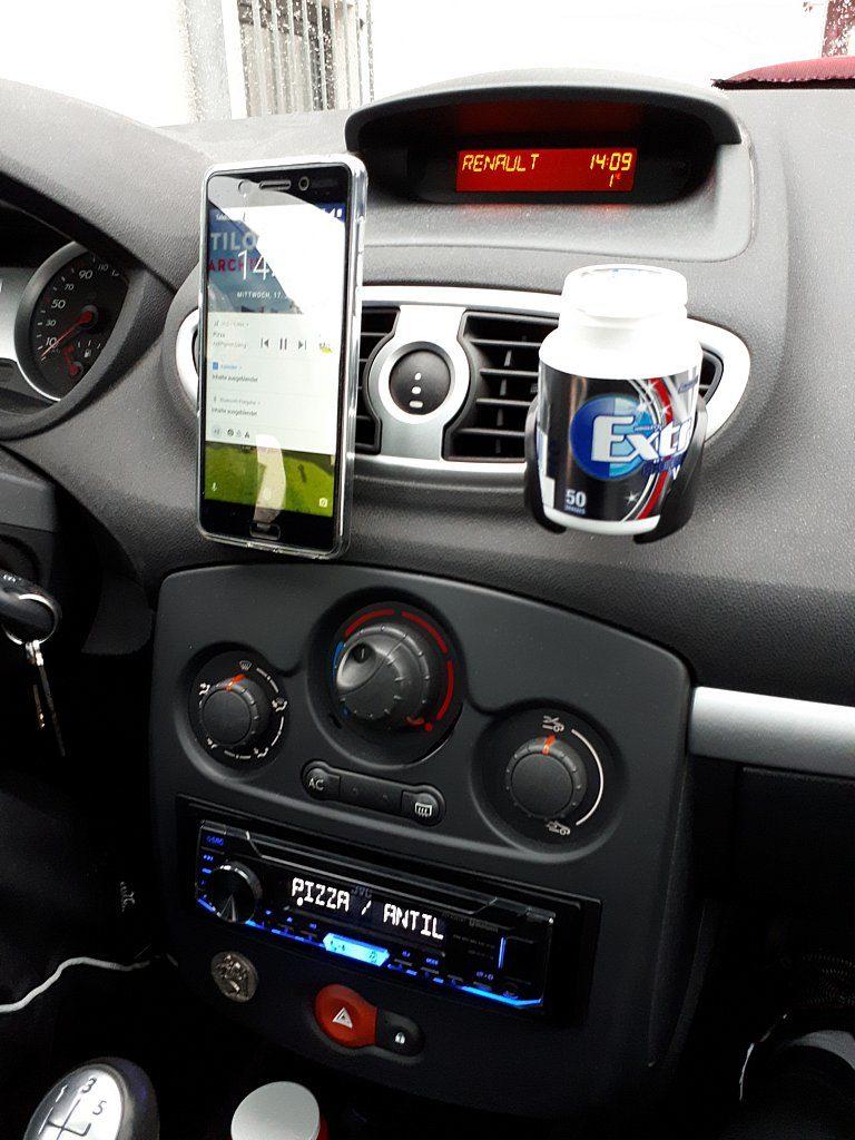 Car-Hifi: Renault Clio III, JVC KD-X351BT und Nokia 6 | Andys Blog ...