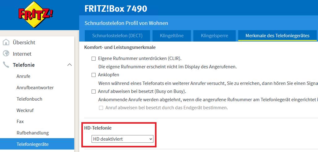 Fritzbox Telefon Nicht Registriert