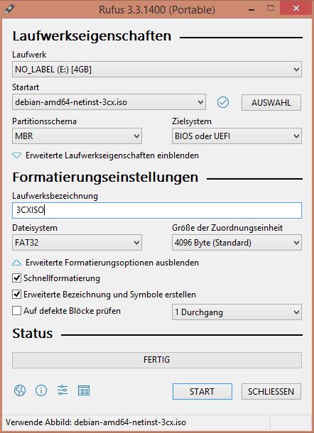 Aktuelle 3CX auf PC Engines APU installieren – Andy's Blog