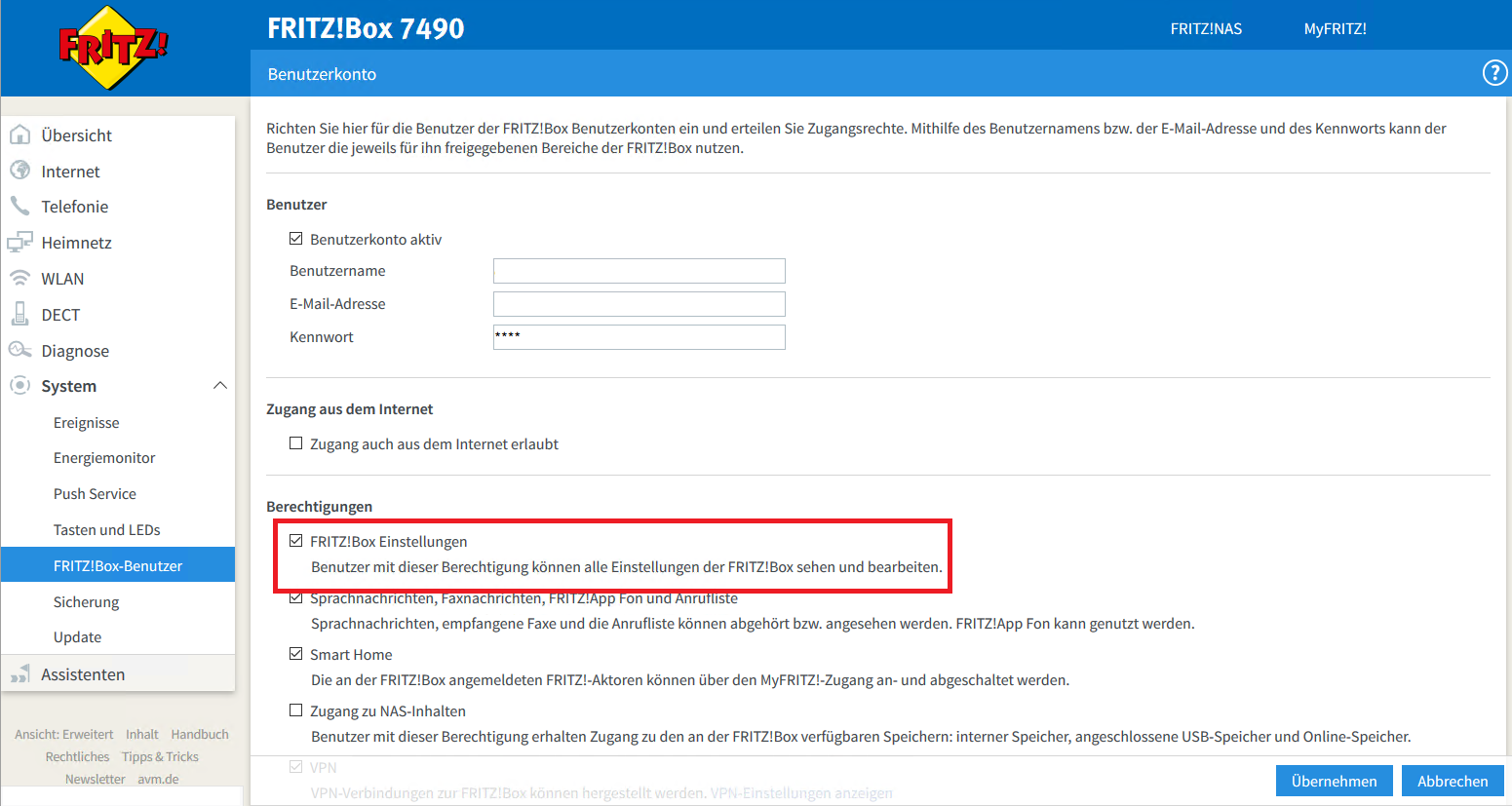 AVM FRITZBox automatisch neu starten lassen – Andy's Blog